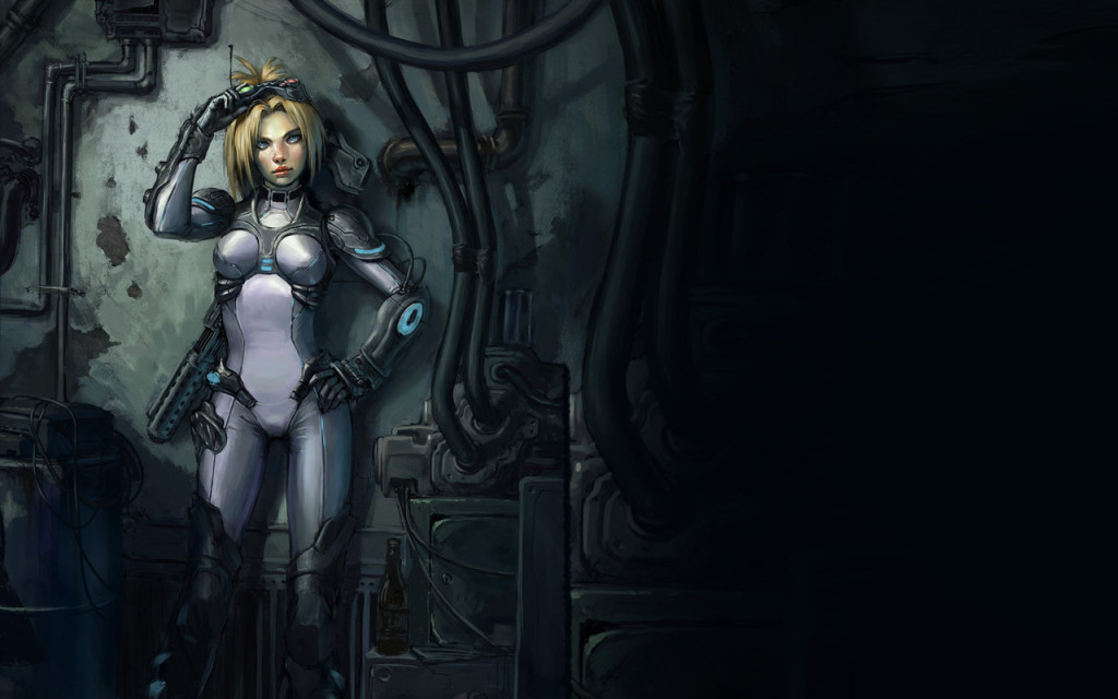 StarCraft Ghost by Atriace 1024x640 Imágenes de Starcraft: Ghost para WhatsApp