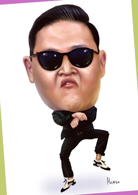 caricaturasdefamosos29 100 Caricaturas de Famosos graciosas para Whatsapp