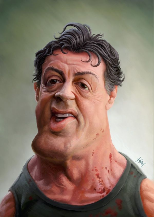 caricaturasdefamosos38 100 Caricaturas de Famosos graciosas para Whatsapp