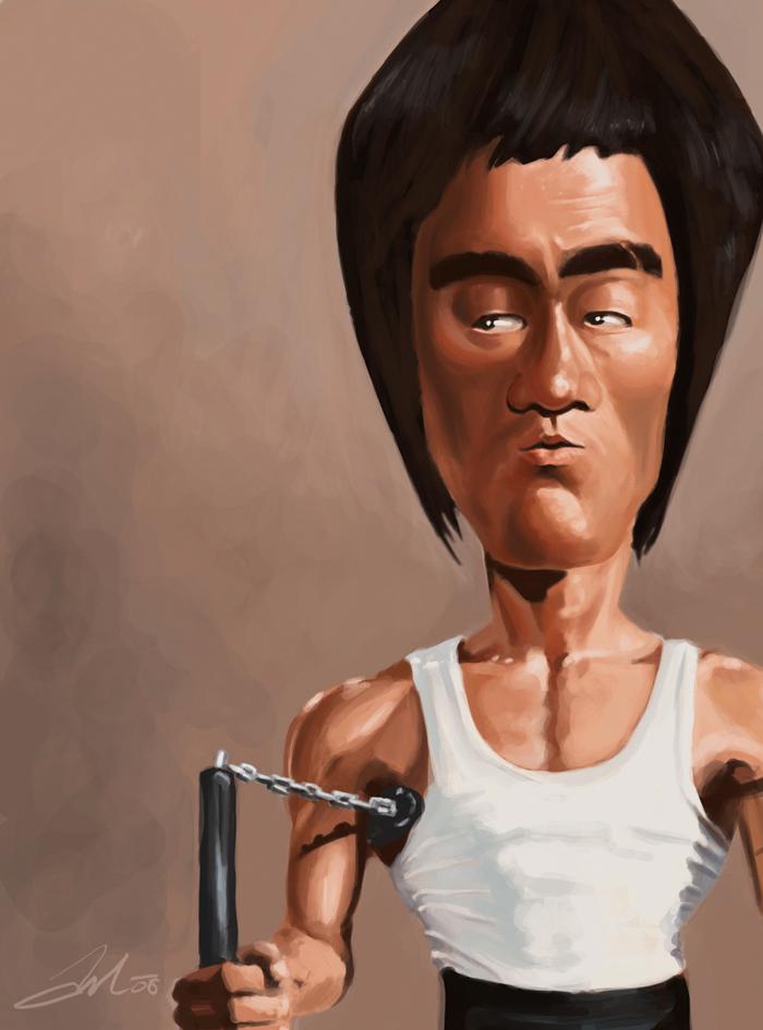 caricaturasdefamosos55 100 Caricaturas de Famosos graciosas para Whatsapp