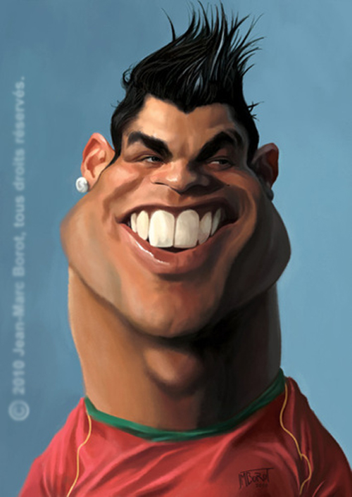 caricaturasdefamosos6 100 Caricaturas de Famosos graciosas para Whatsapp