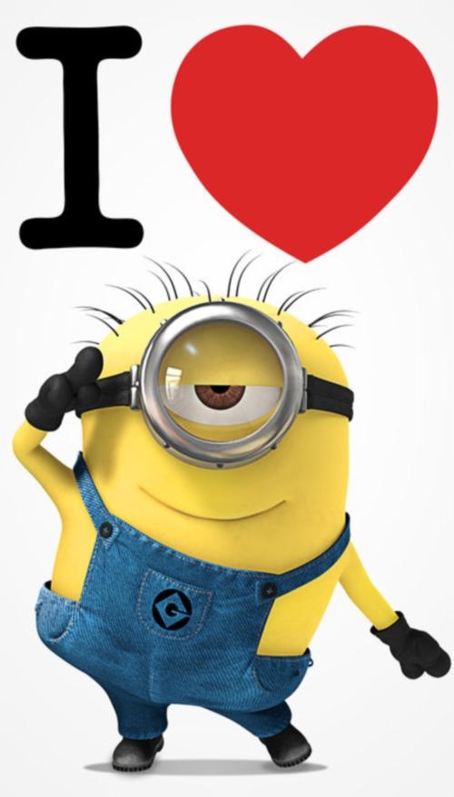 imagenesdeamordelosminions14 Imagenes de amor de los Minions para Whatsapp