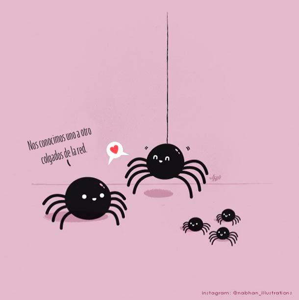 ilustracionesgraciosas4 50 Ilustraciones y Carteles Graciosos para Whatsapp