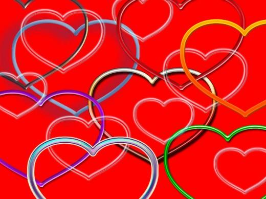 imagenes de corazones156 200 Imágenes de Corazones