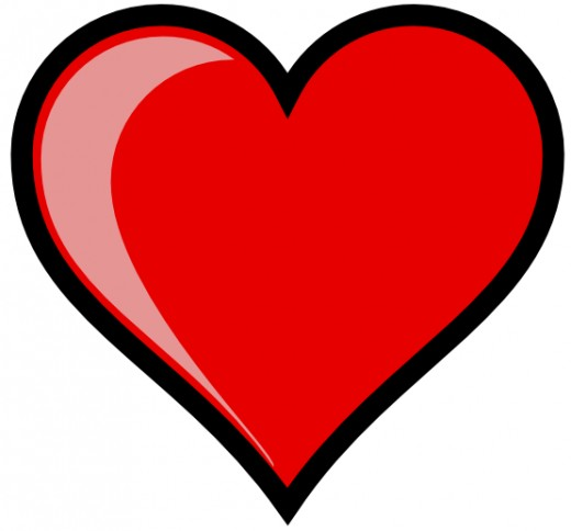 imagenes de corazones176 200 Imágenes de Corazones