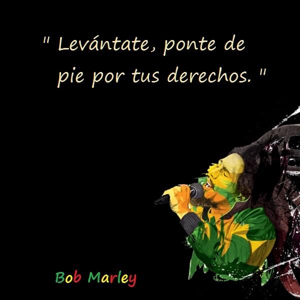 Bob marley frases 33 Imágenes con Frases de Bob Marley