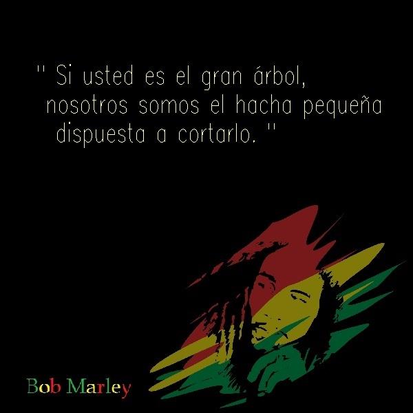 Bob marley frases 36 Imágenes con Frases de Bob Marley