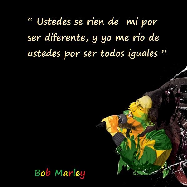 Bob marley frases 5 Imágenes con Frases de Bob Marley