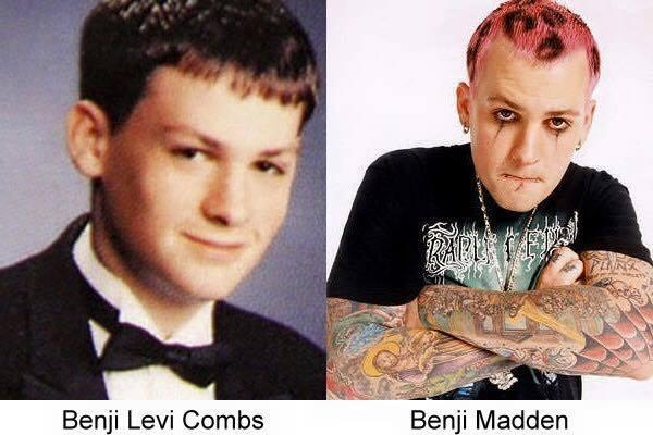 imagenes de famosos antes y despues11 26 Imágenes de Famosos Antes y Despues