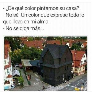 fotos chistosas para Whatsapp casa negra graciosa 300x300 10 Imágenes Graciosas Animadas (GIF) + Fotos chistosas para Whatsapp