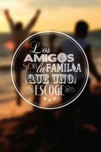 imagenes con reflexiones de amistad los amigos son familia 200x300 Imágenes con Reflexiones de Amistad para Whatsapp