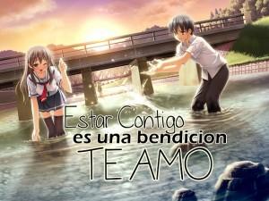 imagenes de amor tiernas - amor anime