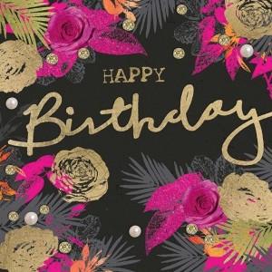 imagenes de cumpleaños en ingles con flores 300x300 Imágenes Cumpleaños en Ingles para Whatsapp