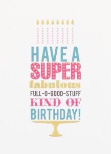 imagenes de cumpleaños en ingles have a super birthday 217x300 Imágenes Cumpleaños en Ingles para Whatsapp