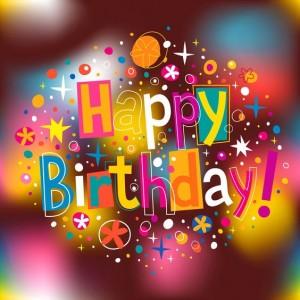 imagenes de cumpleaños en ingles tarjeta colorida 300x300 Imágenes Cumpleaños en Ingles para Whatsapp