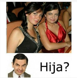 imagenes super chistosas para whatsapp - hija de mr bean