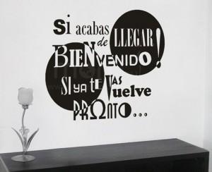 frases de bienvenida bonita frase 300x244 Imágenes con Frases de Bienvenida