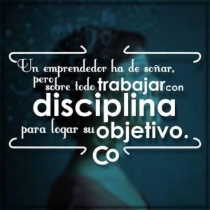 frases de disciplina trabajar con disciplina 300x300 Imágenes con Frases de Disciplina para Whatsapp
