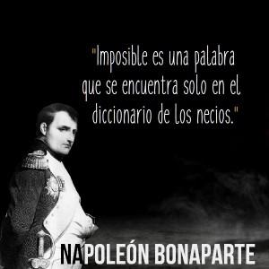 frases de napoleon bonaparte citas y frases celebres 300x300 Imágenes con Frases de Napoleón Bonaparte