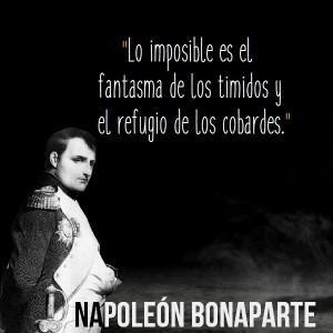 frases de napoleon bonaparte imagen con cita celebre 300x300 Imágenes con Frases de Napoleón Bonaparte