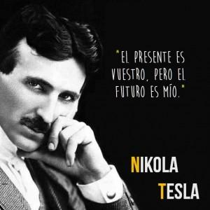frases de nikola tesla imagen con frase 300x300 Imágenes con Frases de Nikola Tesla para Whatsapp