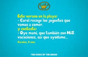 frases de vacaciones chiste 300x196 Imágenes con Frases de vacaciones